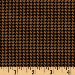 Cozies Flannel Harvest Herringbone Tan Fabric