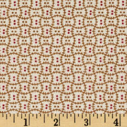 Cozies Flannel Harvest Check tan Fabric