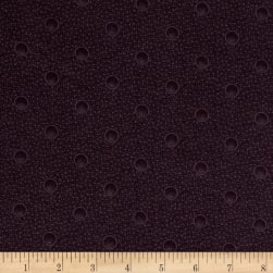 Cozies Flannel Harvest Bubbles Purple Fabric