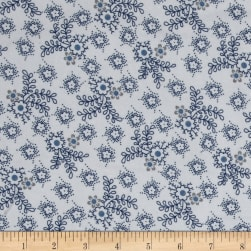 Cozies Flannel Flower Grey