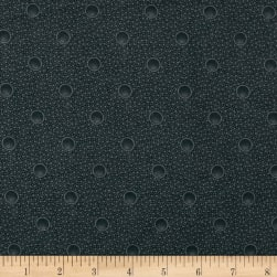 Cozies Flannel Bubbles Grey Fabric
