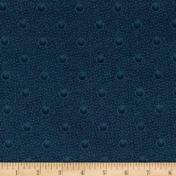 Cozies Flannel Bubbles Blue