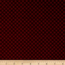 Cozies Flannel Lg Check Burgundy