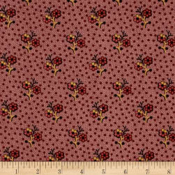 Cozies Flannel Flower Pink Fabric