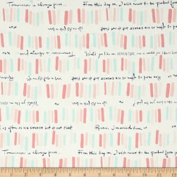 Art Gallery Paperie Quoted Fabric