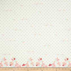 Art Gallery Paperie Gathering Blooms Border Print Fabric