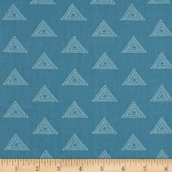 Art Gallery Fleet & Flourish Denim Opal Fabric