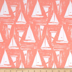 Art Gallery Coastline Sailcloth Sunset Fabric
