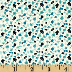 Art Gallery Essentials II Delicate Femme Azur Fabric