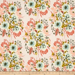 Art Gallery Forest Floor Wild Posy Flora Fabric