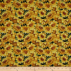 Golden Harvest Metallic Sunflowers Multi