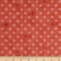 Silent Christmas Stars & Snowflakes Red