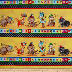 Alphabet Friends ABC Shelf Stripe Multi