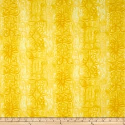 Soft Dreams Abstract Stripe Yellow Fabric