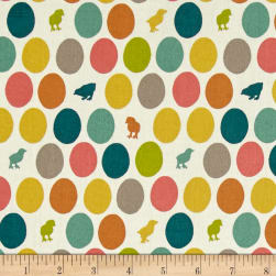 Birch Organic Farm Fresh Hatched Fabric