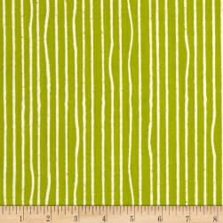 Birch Organic Farm Fresh Yarn Stripe Grass Fabric