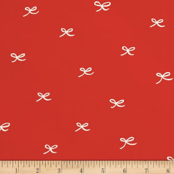 Birch Organic Wonderland Bows Red