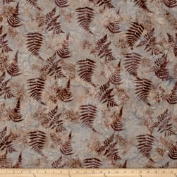 Bali Batiks Handpaints Fern Huckleberry Fabric
