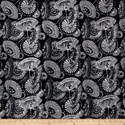 Bali Batiks Handpaints Parisols Onyx Fabric