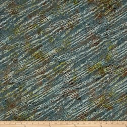 Bali Batiks Handpaints Fiber Caterpillar Fabric
