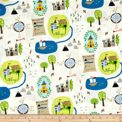 Meet The Royal Court Castle Grounds Fabric