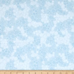 Essentials Flannel Sparkle Light Blue