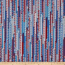 Kanvas All American Drawing Straws Black Fabric