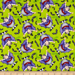The Count Tossed Count Green Fabric