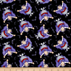 The Count Tossed Count Black Fabric