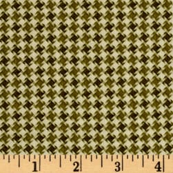 My Precious Quilt Houndstooth Green