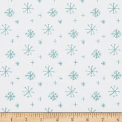 25 Days of Christmas Snowflakes White