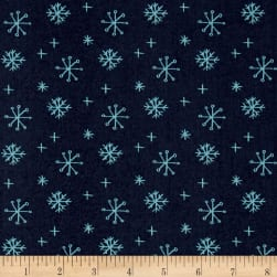 25 Days of Christmas Snowflakes Dark Gray