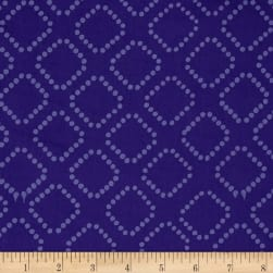 Indah Batiks Dotty Diamonds Violet