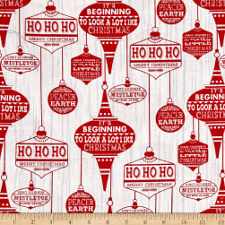 Holiday Traditions Ornaments White