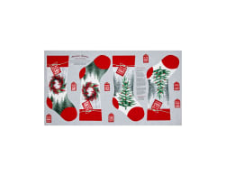 Holiday Traditions Stocking 24 In. Panel Red &