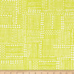 Blush & Blooms Dotted Patchwork Lime