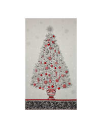 Kaufman Winter's Grandeur 4 Metallics Tree 24