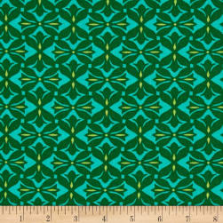 Amy Butler Dream Weaver Cross Print Pine