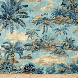 Tommy Bahama Home Dec Scenic Beauty Riptide Fabric