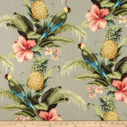 Tommy Bahama Indoor/Outdoor Beach Bounty Tangelo Fabric