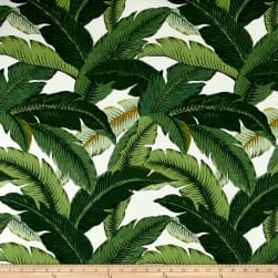Tommy Bahama Indoor/Outdoor Island Hopping Emerald Fabric