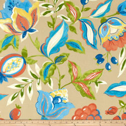 Waverly Sun N Shade Modern Poetic Sand Fabric