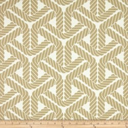 Waverly Sun N Shade Topsail Trellis Sand Fabric