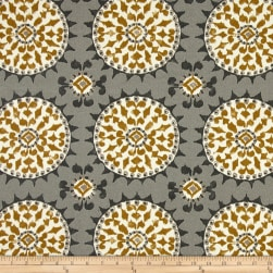 Dena Designs Johara Slate Outdoor Fabric
