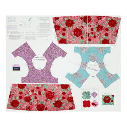 Riley Blake Ivy Mae 36 In. Panel Pink