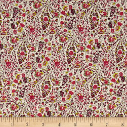 Telio Hampton Court Cotton Poplin Paisley Pink Fabric