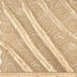 Telio Kala Lace Gold/Gold Fabric