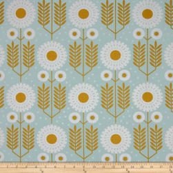 Joel Dewberry Wander Prairie Bloom Maize Fabric