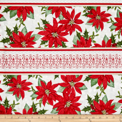Winter Lodge Wide Stripe Red