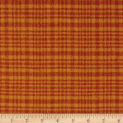 Color Catchers Yarn-Dye Flannel Large Plaid Orange